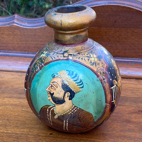 Handpainted Portrait Vase