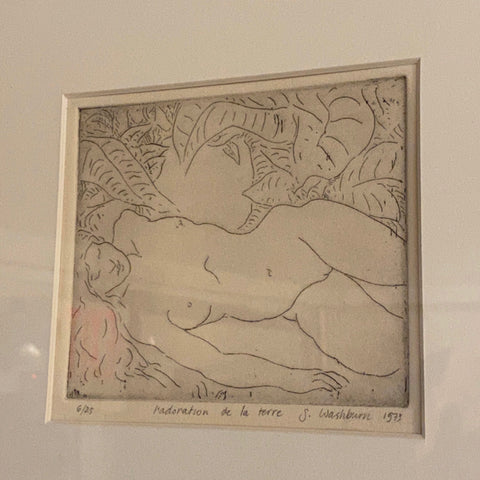 Washburn Adam and Eve Collection of Sketches
