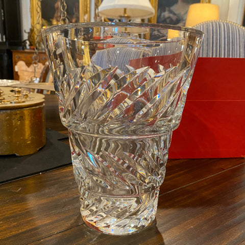 Baccarat Crystal Vase in Original Box