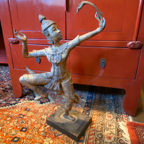 Bronze Thai Dancer Statue