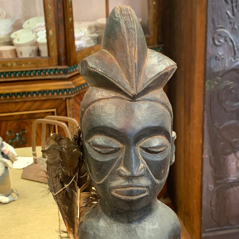 Authentic Hand Carved African Tribal Sculpture