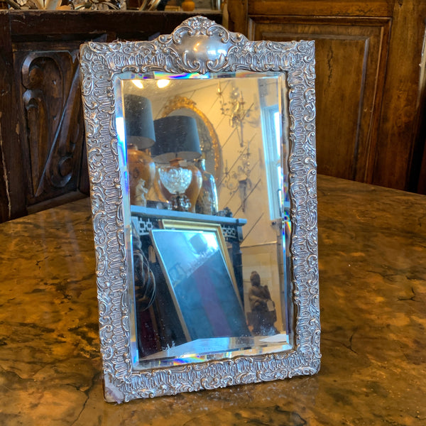 Birmingham Sterling Silver Framed Tabletop Mirror