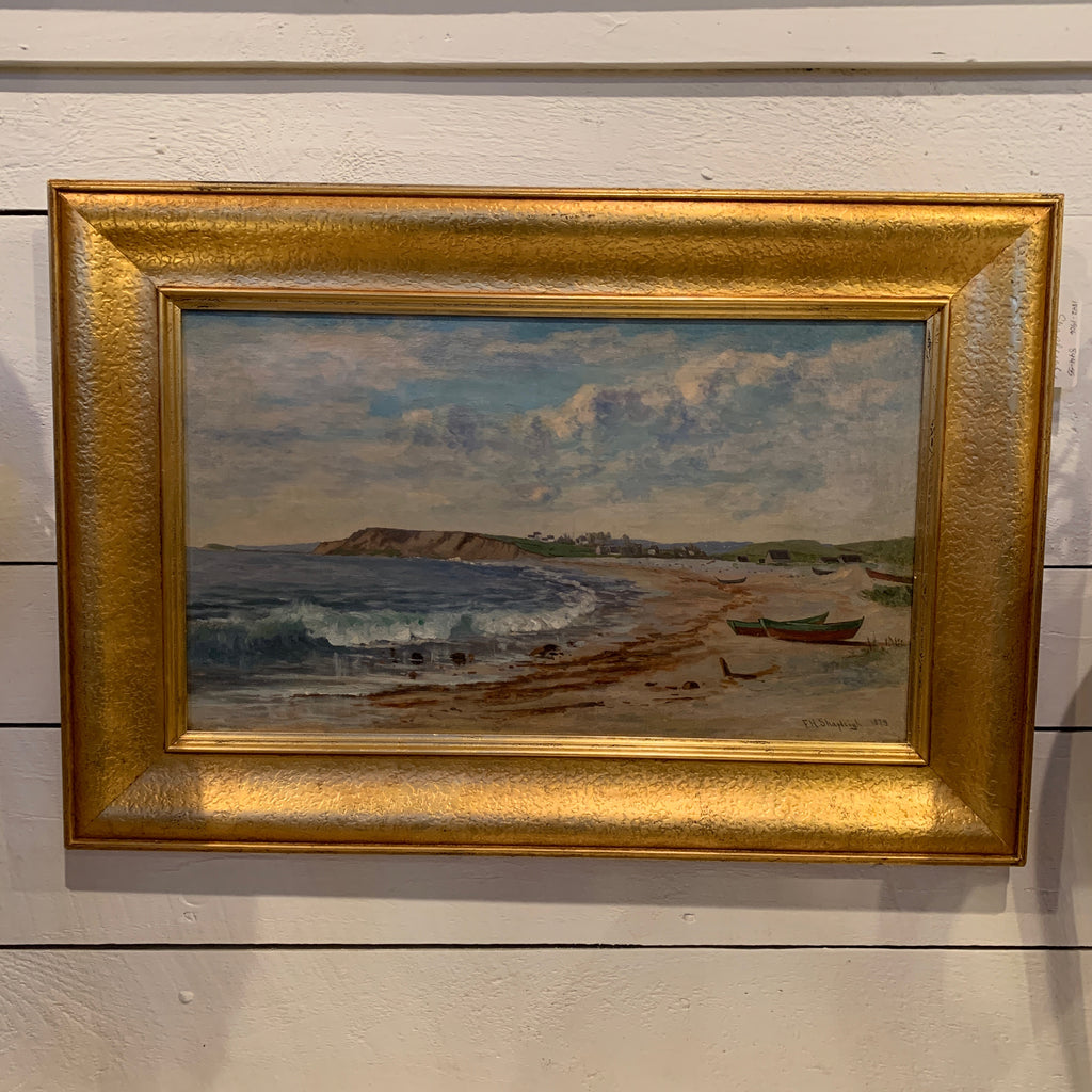 Seascape Painting by Frank Shapleigh