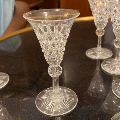 Set of 6 Waterford Cordial Aperitif Glasses