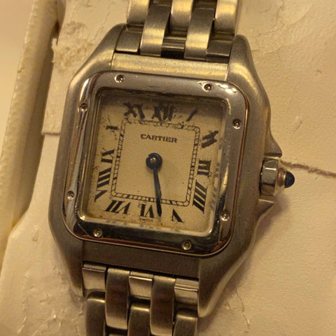 14K Omega Cartier Ladies Watch