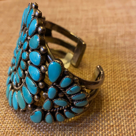 Sterling and Turquoise Cuff