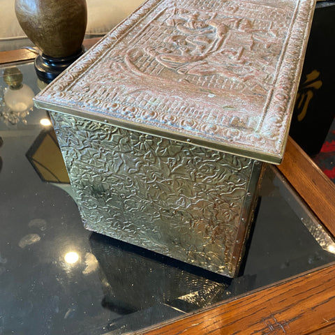 Embossed Metal Box