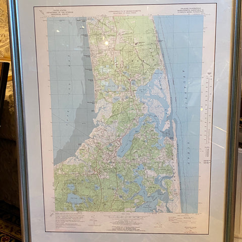 Map of Cape Cod Massachusetts