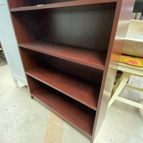 Brown Bookcase with 6 shelves