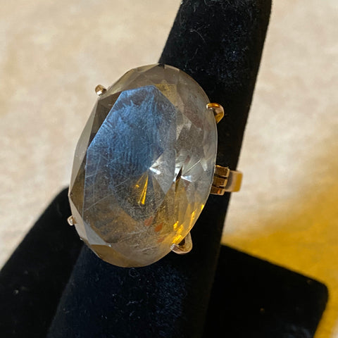 14k Citrine Cocktail Ring