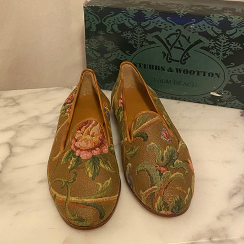 Stubbs and Wooten Tapestry Loafers