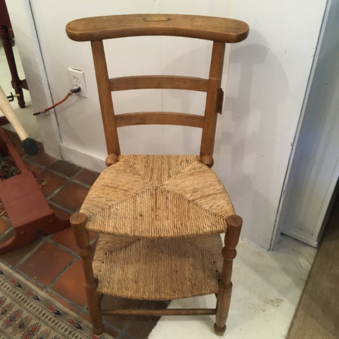 French Prie Dieu Prayer Chair