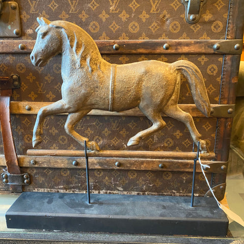 Antique Horse Weathervane Sculpture Piece