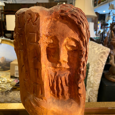 Carved Wooden Man
