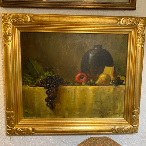 Beautiful o/c still life by John Carol Doyle