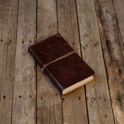 Medium (LINED) Leather Journal