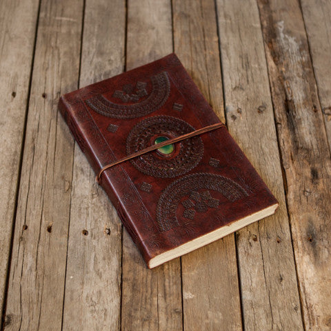 Large (LINED) Leather Journal