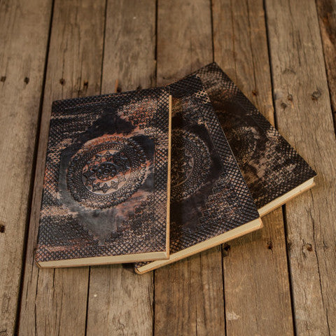 Distressed Notebook