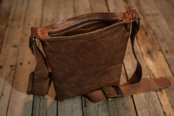Pouch Leather Satchel