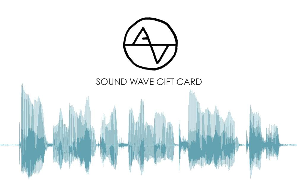 Electronic Gift Card, Artsy Voiceprint Gift