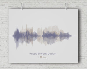 Birthday Gift for Dad - Personalized Voice Message