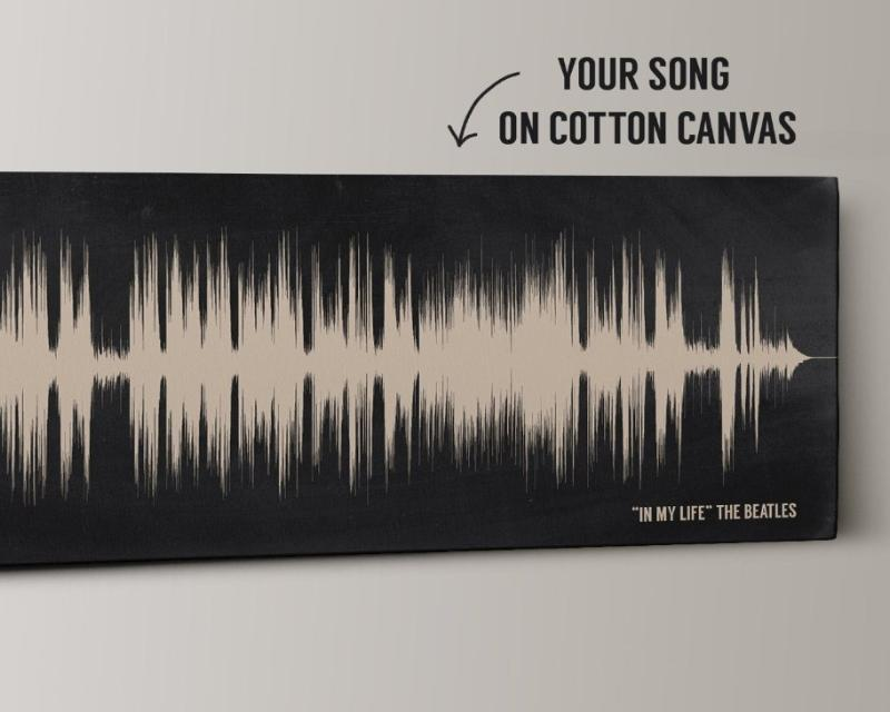 2nd Anniversary Song Cotton Canvas