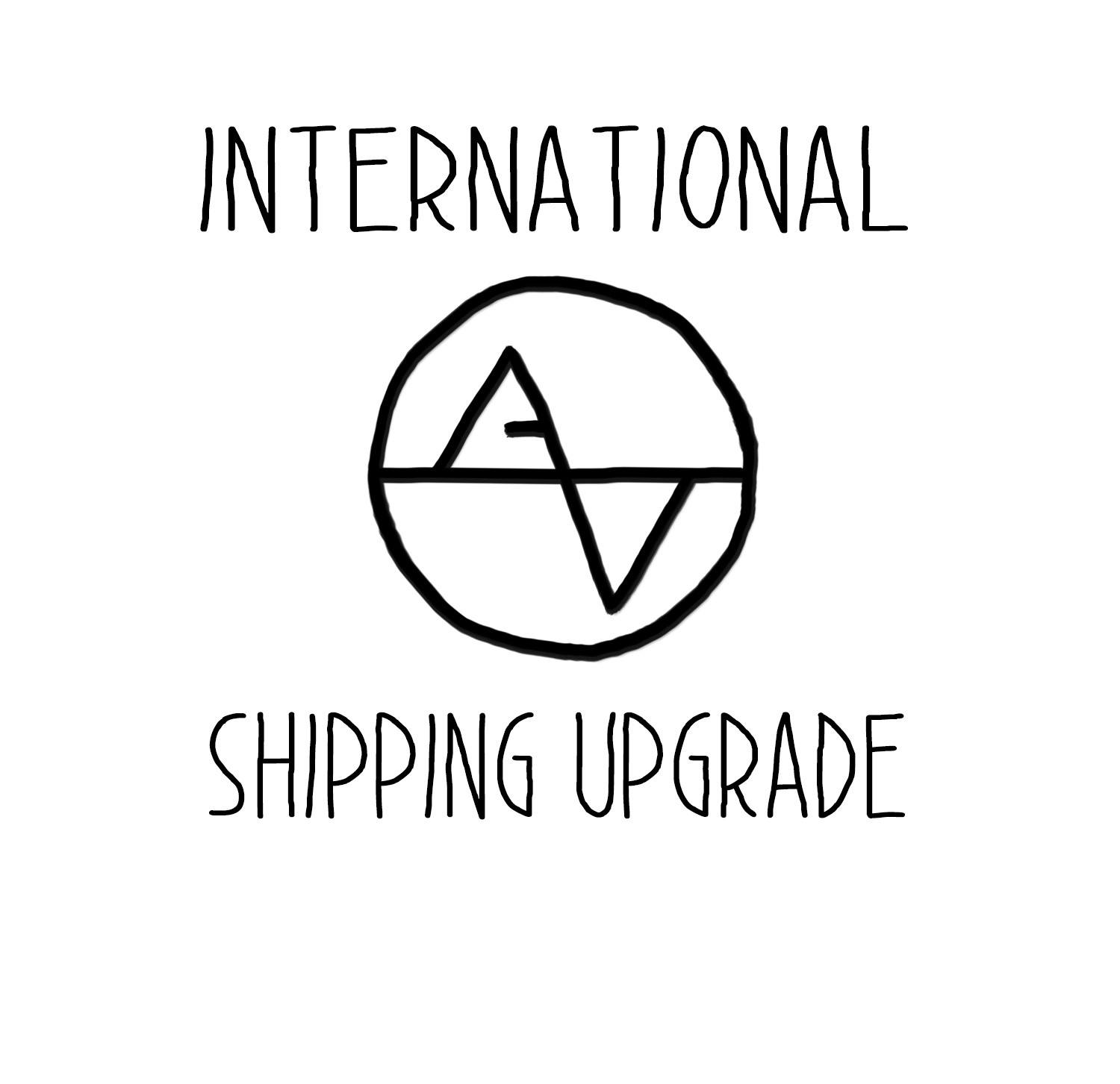 Upgrade Shipping for International Orders - Artsy Voiceprint