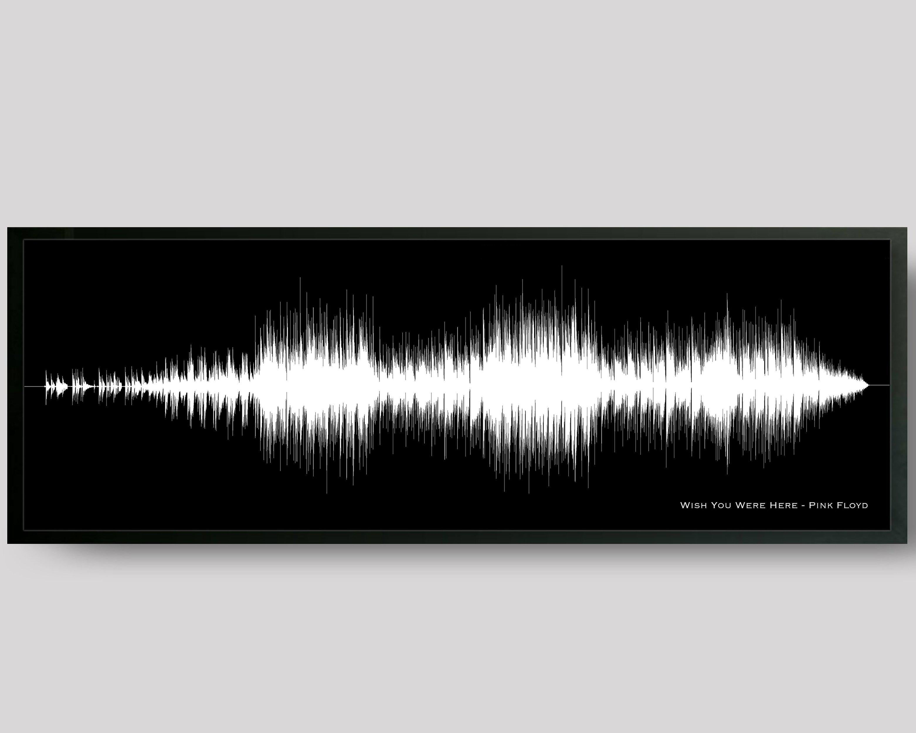 Song Sound Wave Print Birthday Gift For Boyfriend DJ Music