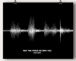 "Star Wars Movie ""May The Force Be With You"" Quote"