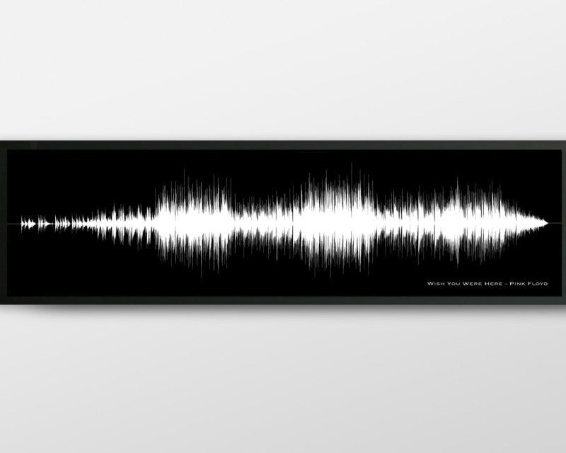 Gift Certificate - Song Soundwave Art - Any Song / Lyric Turned into Art - Artsy Voiceprint - 4