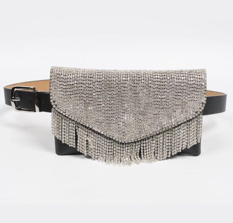 Jessica Bara Jane Diamond Tassel Fanny Pack