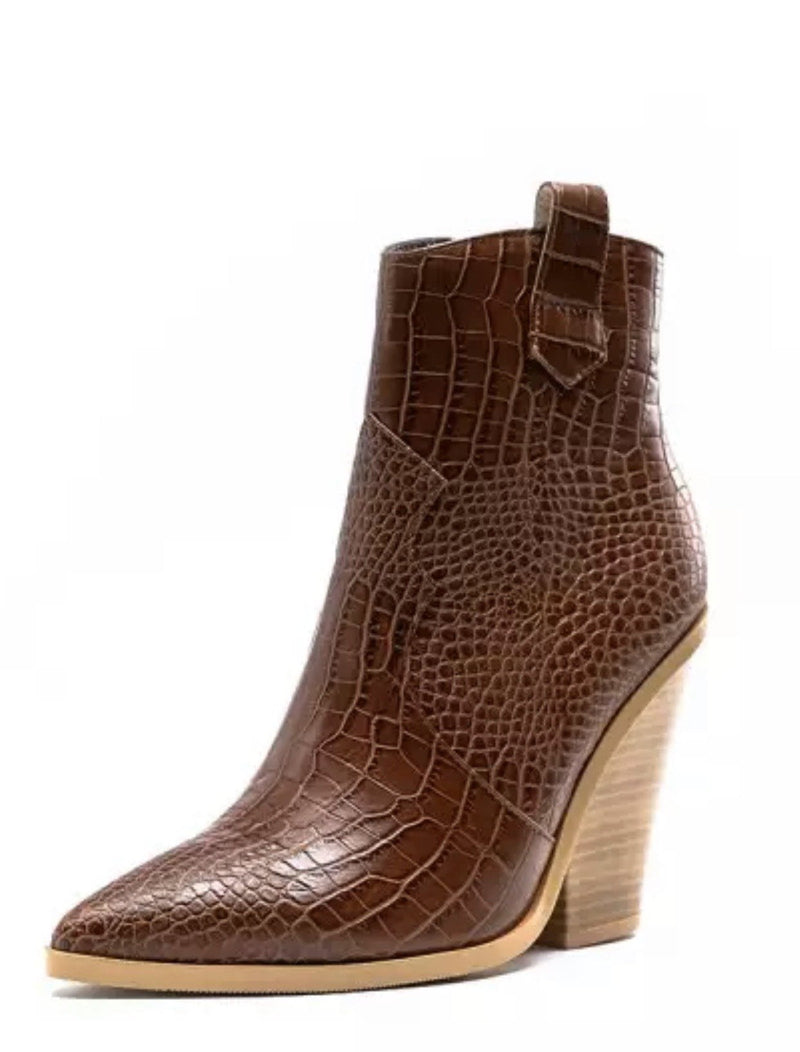 Jessica Bara Fraser Chunky Ankle Bootie
