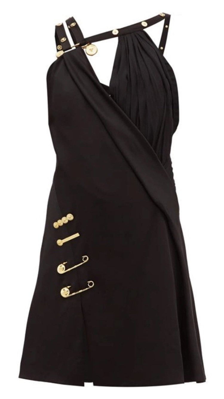 Jessica Bara Josie Pin Embellished Dress