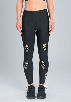 Active Fit Pineapple Leggings
