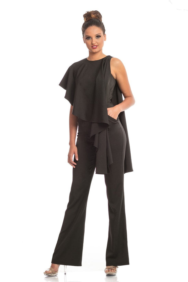 Johnathan Kayne Cape Jumpsuit