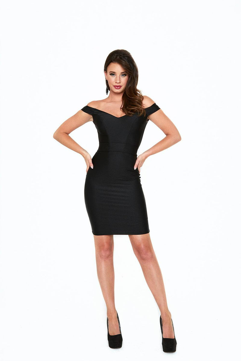 Atria Off The Shoulder Bodycon Mini Dress