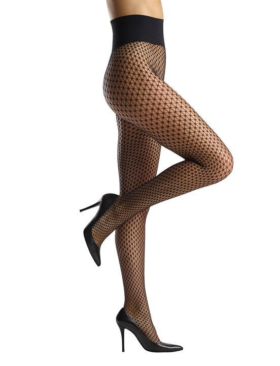 Commando Triangle Net Tights