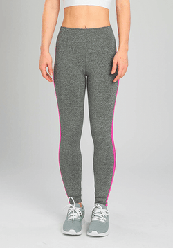 Active Fit Influence Neon Pink Chevron Legging