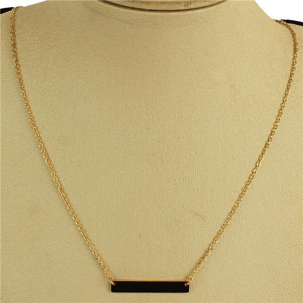 Jessica Bara Chloe Pendant Bar Necklace