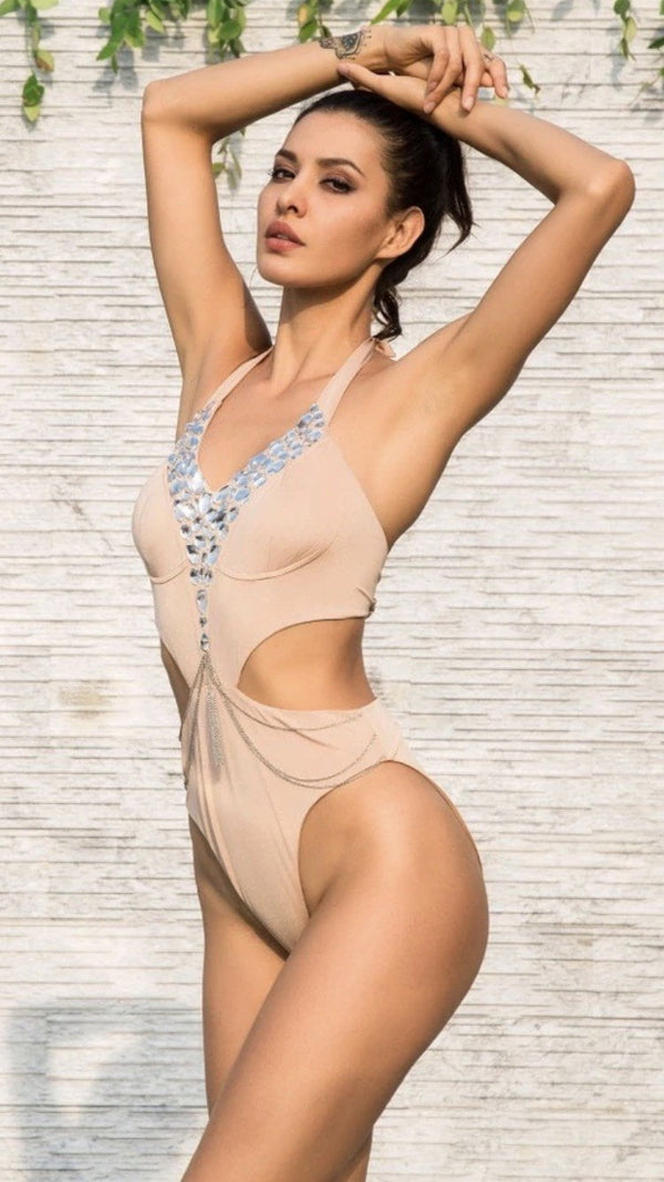 Jessica Bara Sunlight One-Piece Bathing Suit