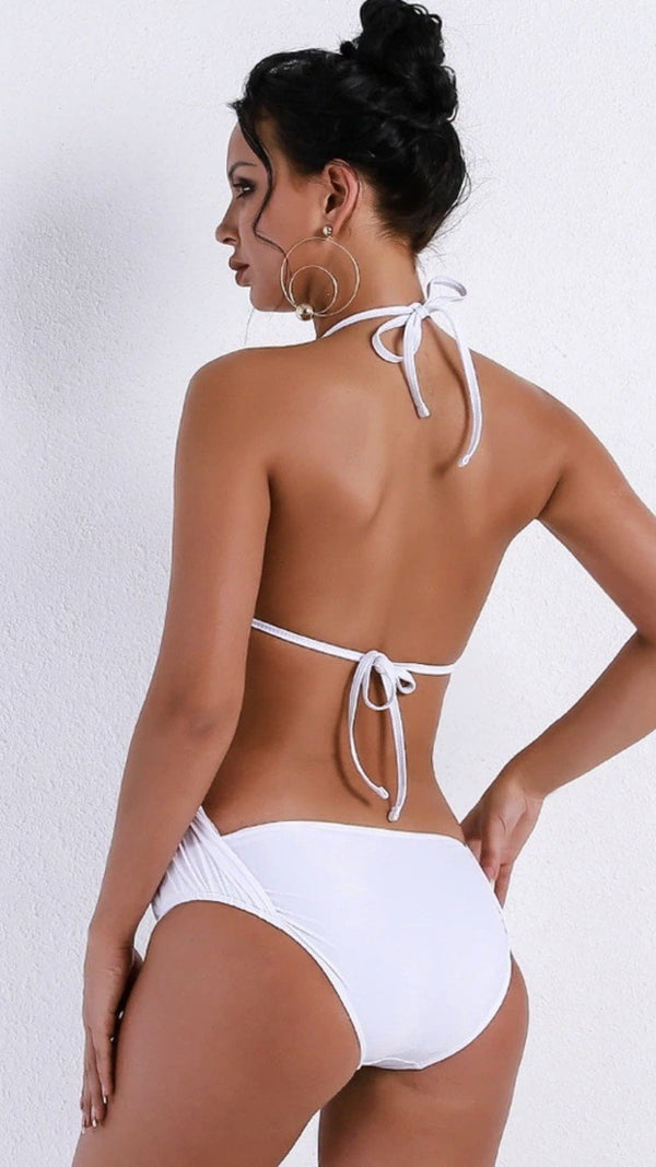 Jessica Bara Stella Jewel Backless Swimsuit