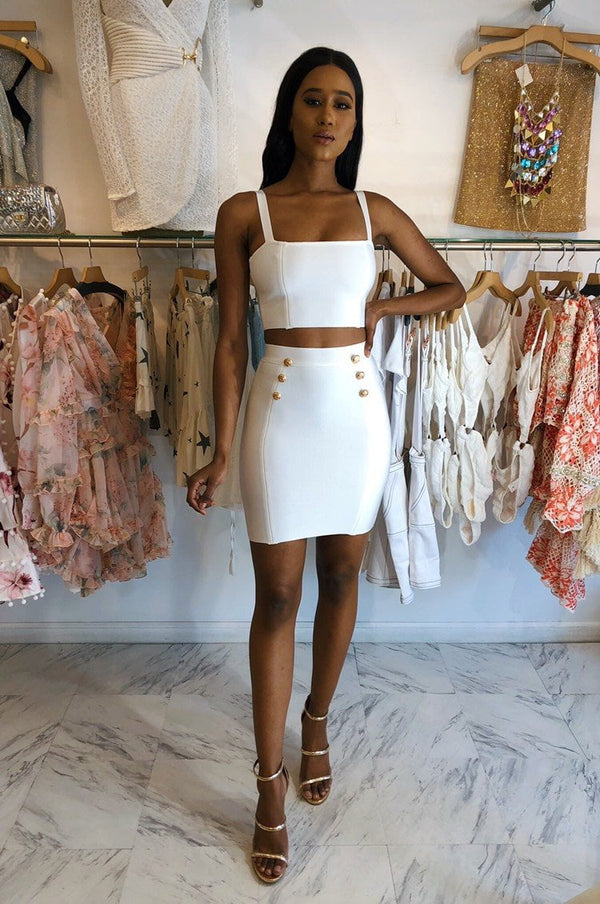 Jessica Bara Peyton Two Piece Bandage Set