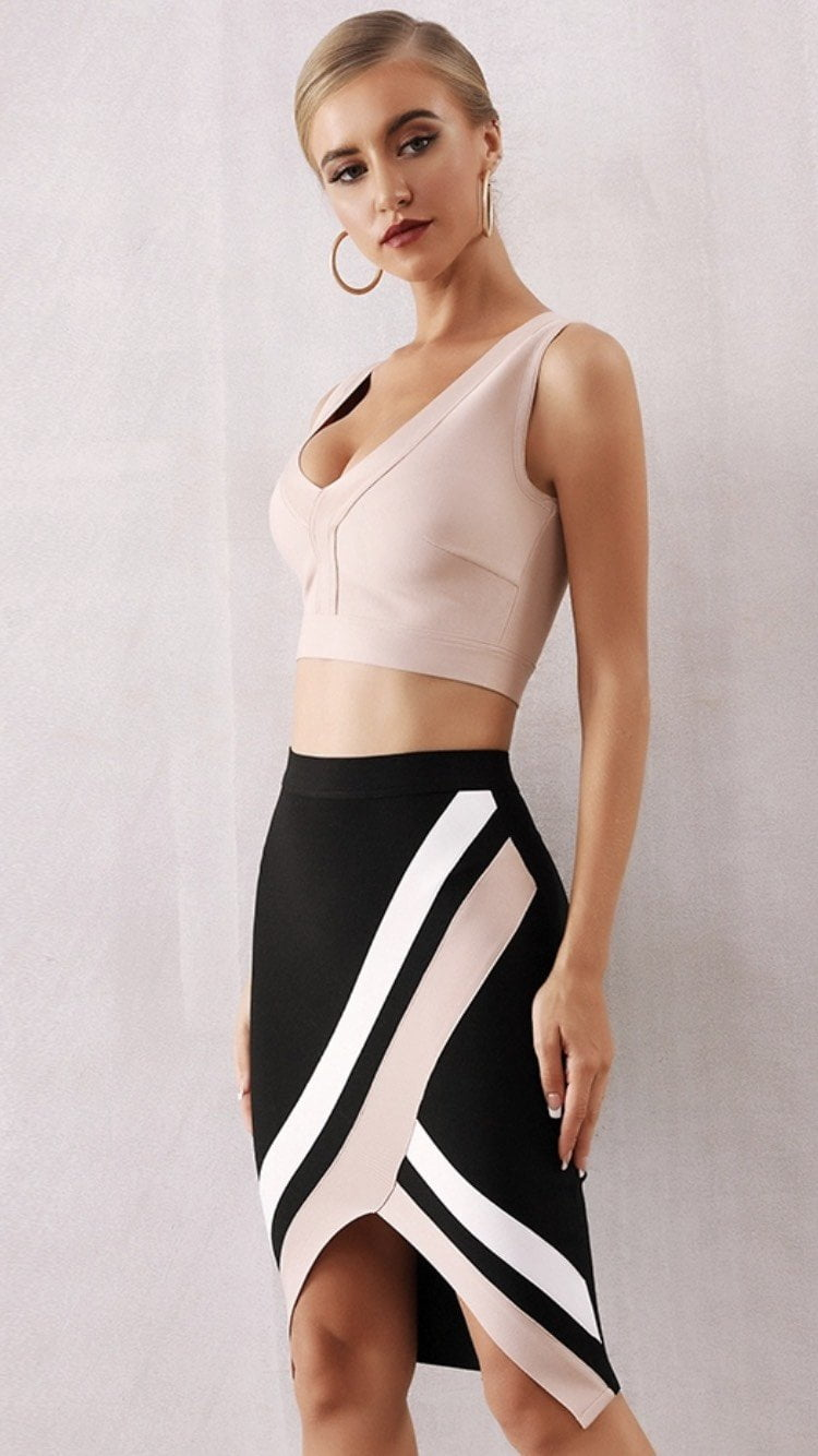 Jessica Bara Kendall Two Piece Bandage Set