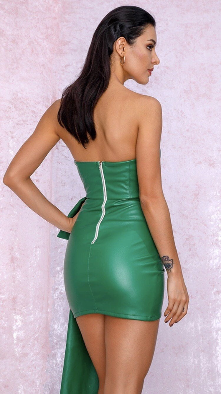 Jessica Bara Harlen Strapless Mini Dress
