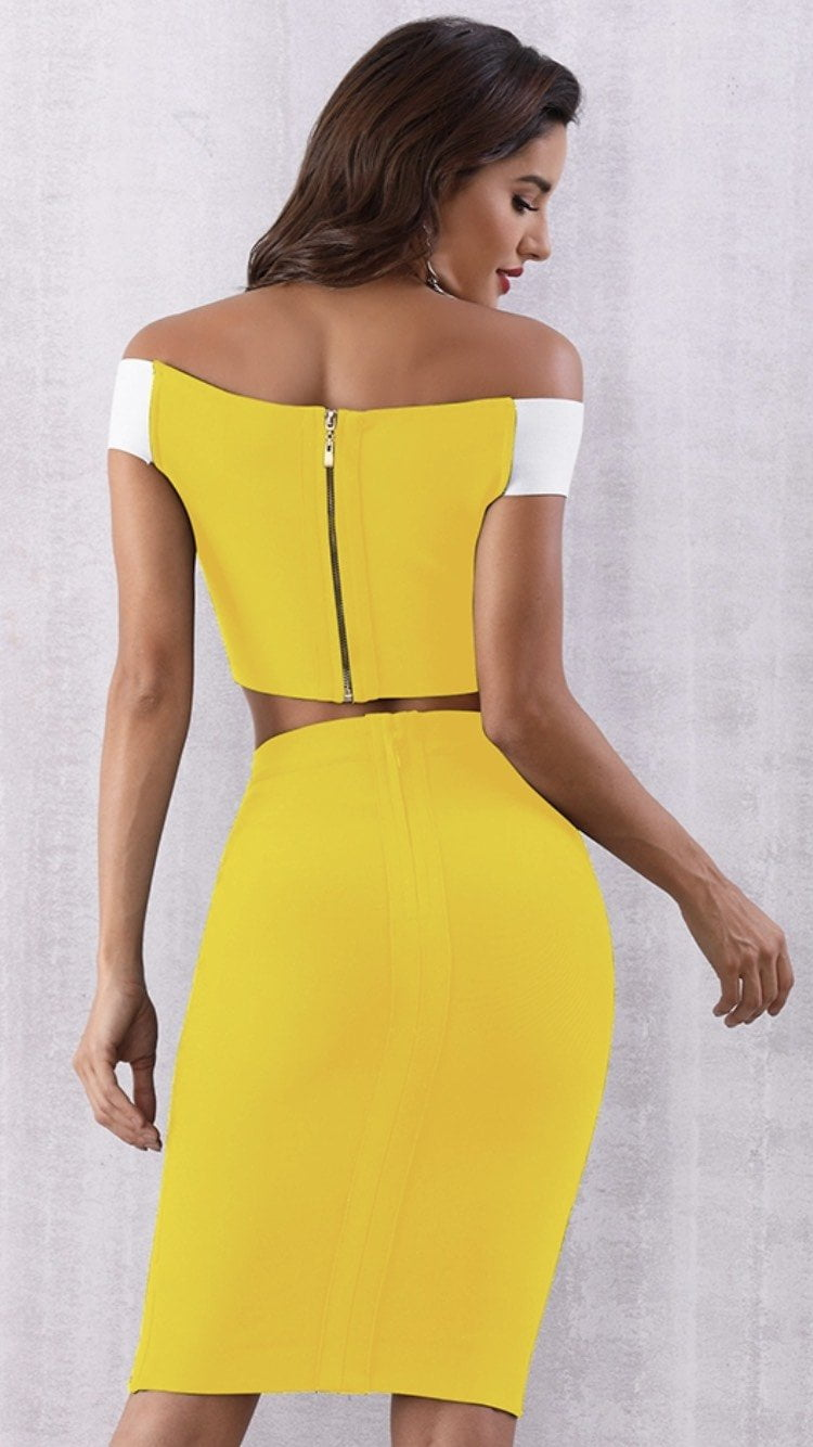 Jessica Bara Emma Two Piece Bandage Set
