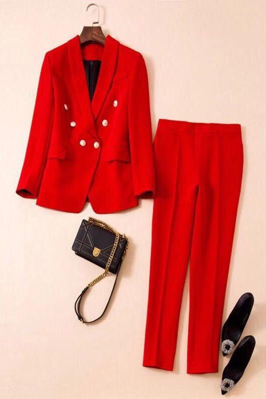Jessica Bara Londyn Two Piece Pant Suit