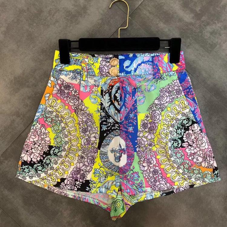 Jessica Bara Arden Two Piece Printed Crop Top and Short