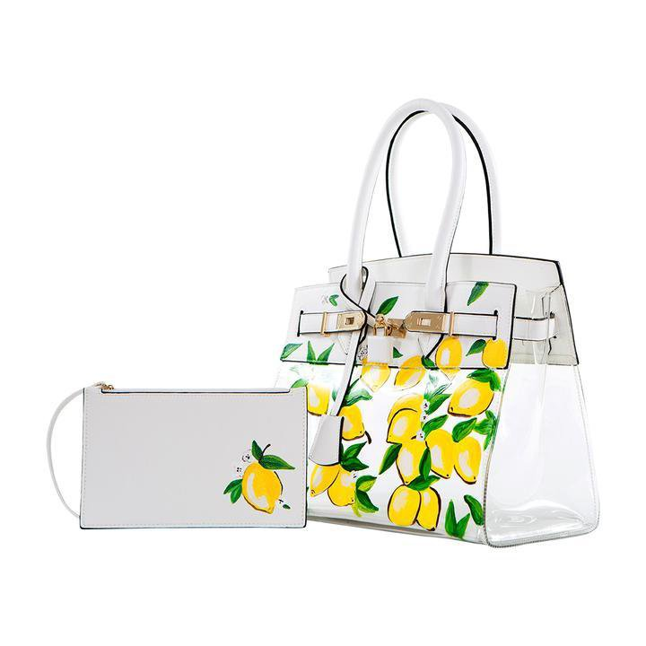 De Vesi De Limone (Mini) Hand Painted Handbag