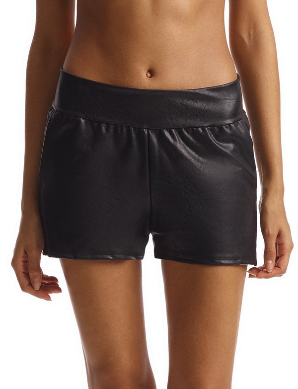 Commando Faux Leather Jetset Shorts