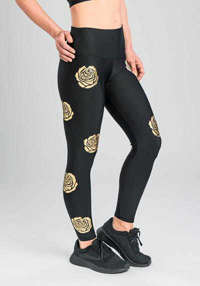 Active Fit Roses Leggings